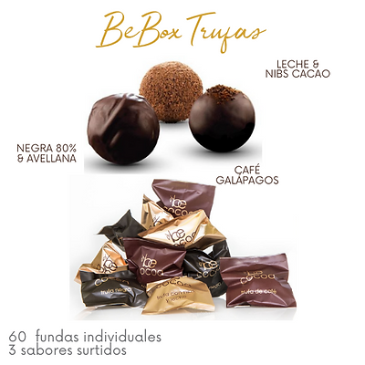 Be Box 60 Trufas (sabores surtidos)