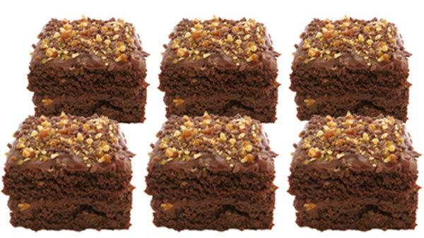 6 Mini Cakes Gourmet