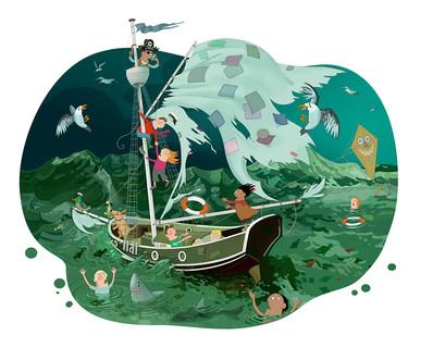 Illustrationer til musikundervisning af børn