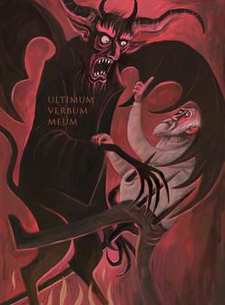 Illustration til dødsmanifest