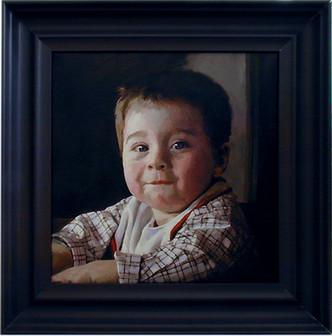 Portræt af min søn Sigurd Balle