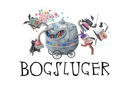 Bogsluger Logo