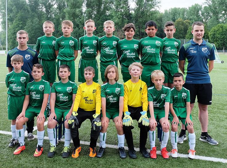 E-Junioren DJK Donaueschingen 2020/2021