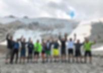 Radtour der Radgruppe der DJK Donaueschingen nach Sölden