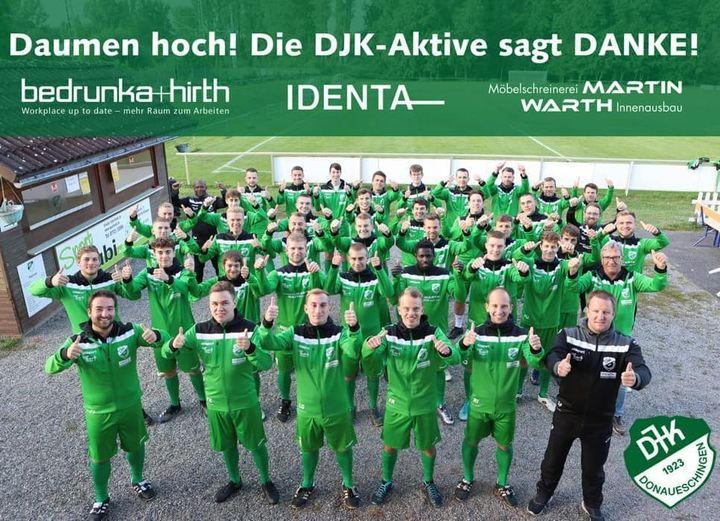 DJK-Aktive neu eingekleidet – Großer Dank an die Sponsoren