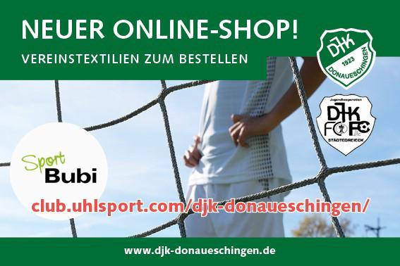 DJK-Online-Shop ist online
