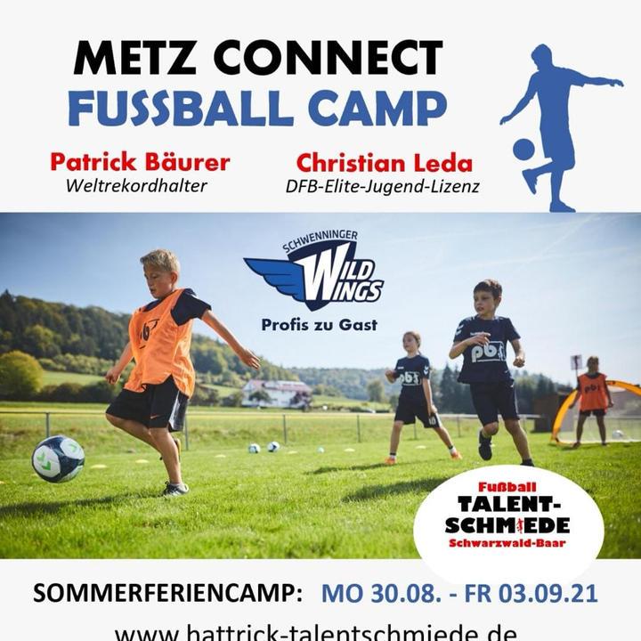 Informationen zum Metz Connect Fußball Camp in den Sommerferien