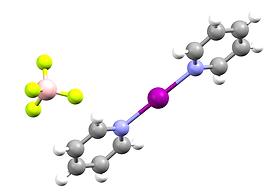 Bis(pyridine)iodonium(I)_tetrafluorobora