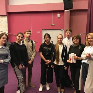 Встреча с учениками школы 1409