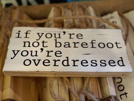 Exercising Barefoot