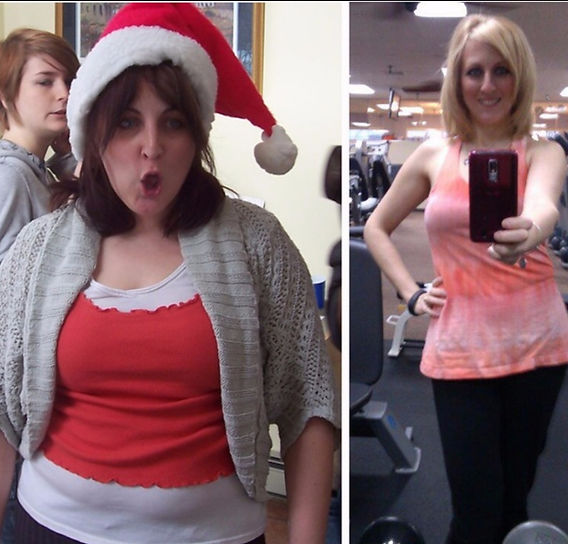 Laurie's Before and After Photo