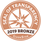 Sato Heart Rescue earned a 2019 Bronze Seal of Transparency
