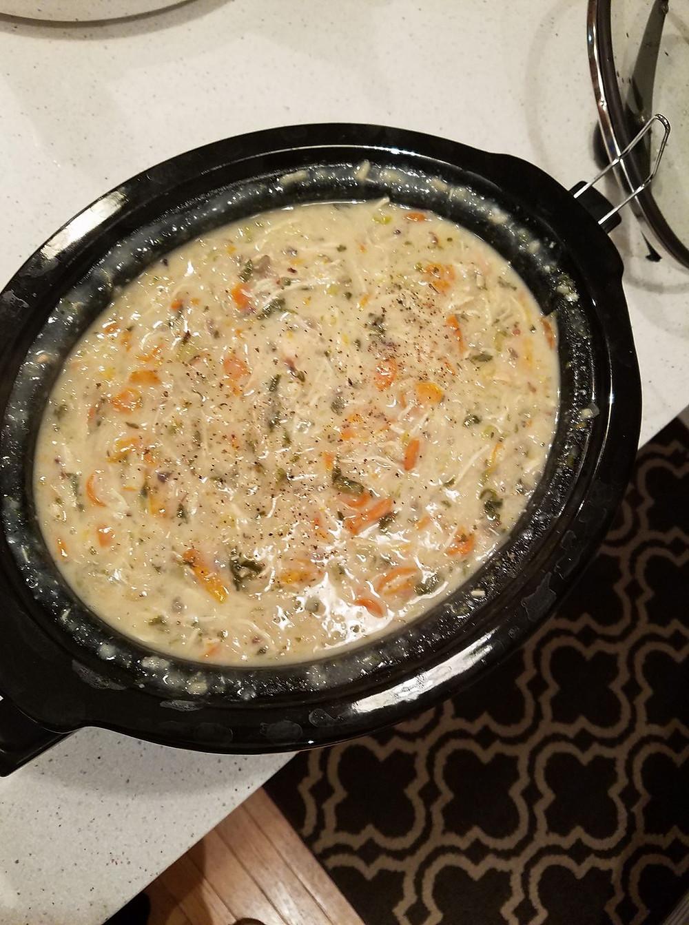 Crock pot soup image!