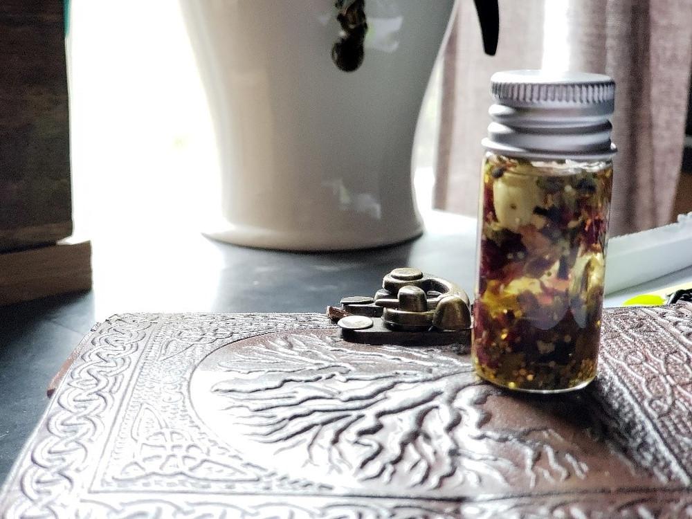 Oil Spell Jar
