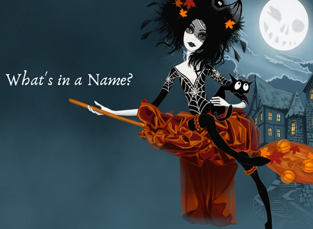 I Want A Witchy Name!