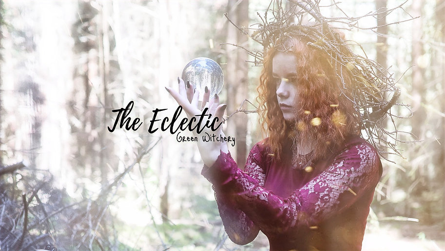 The Eclectic Green Witchery Etsy Banner