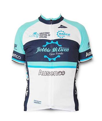 Robbie McEwen Gran Fondo jersey blue