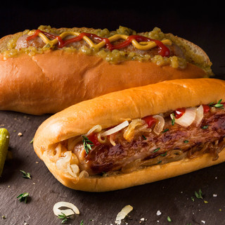 Brioche hotdog