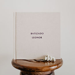Álbum Fotográfico Linho