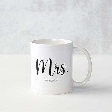 Caneca Mrs.