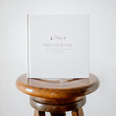 Livro de honra Palavras bonitas dos melhores convidados do mundo