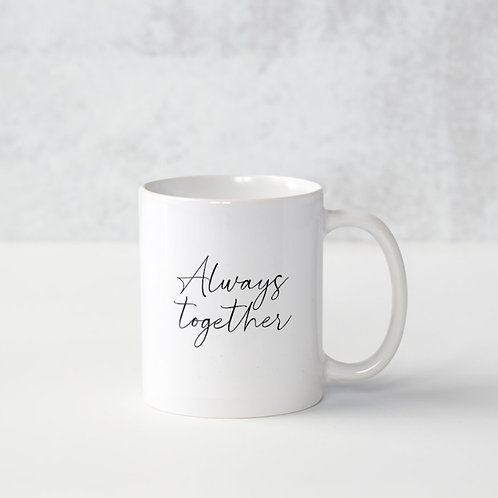 Caneca Always Together