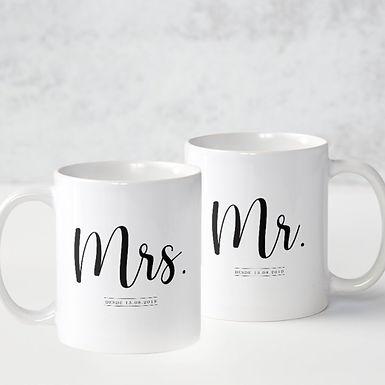 Conjunto Mr & Mrs