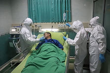 clinicians working in PPE