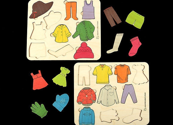 Игровое пособие «Одежда»