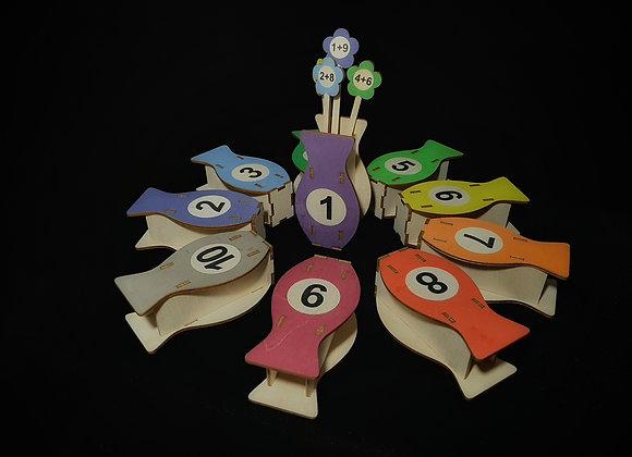 Игровое пособие «Математический букет»