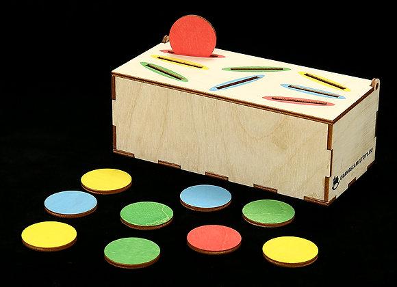 Игровое пособие «Шкатулка с монетками»