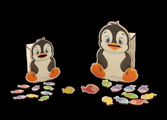 """Игровое пособие """"Голодные пингвины"""""""