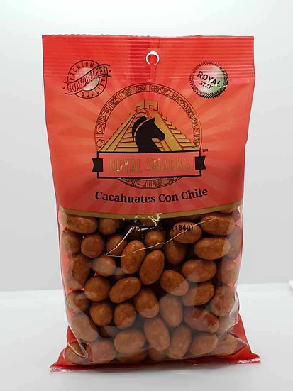 Cacahuates Con Chile