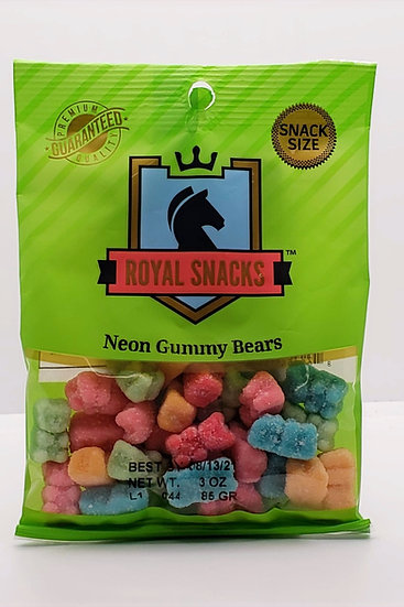 Neon Gummy Bears