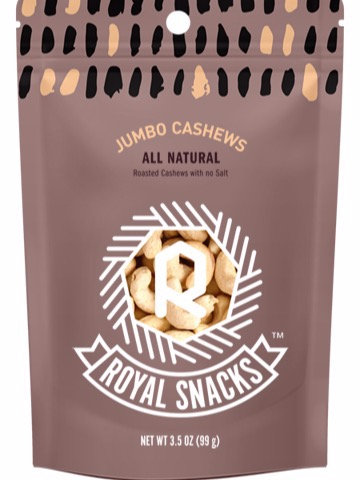 Unsalted Jumbo Cashews
