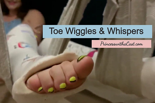Toe Wiggling with Sensual Description