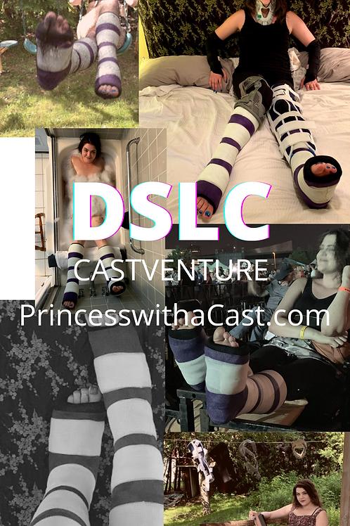 DSLC : Purple & White Striped