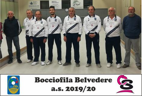 Bocciofila Belvederese 2019-20
