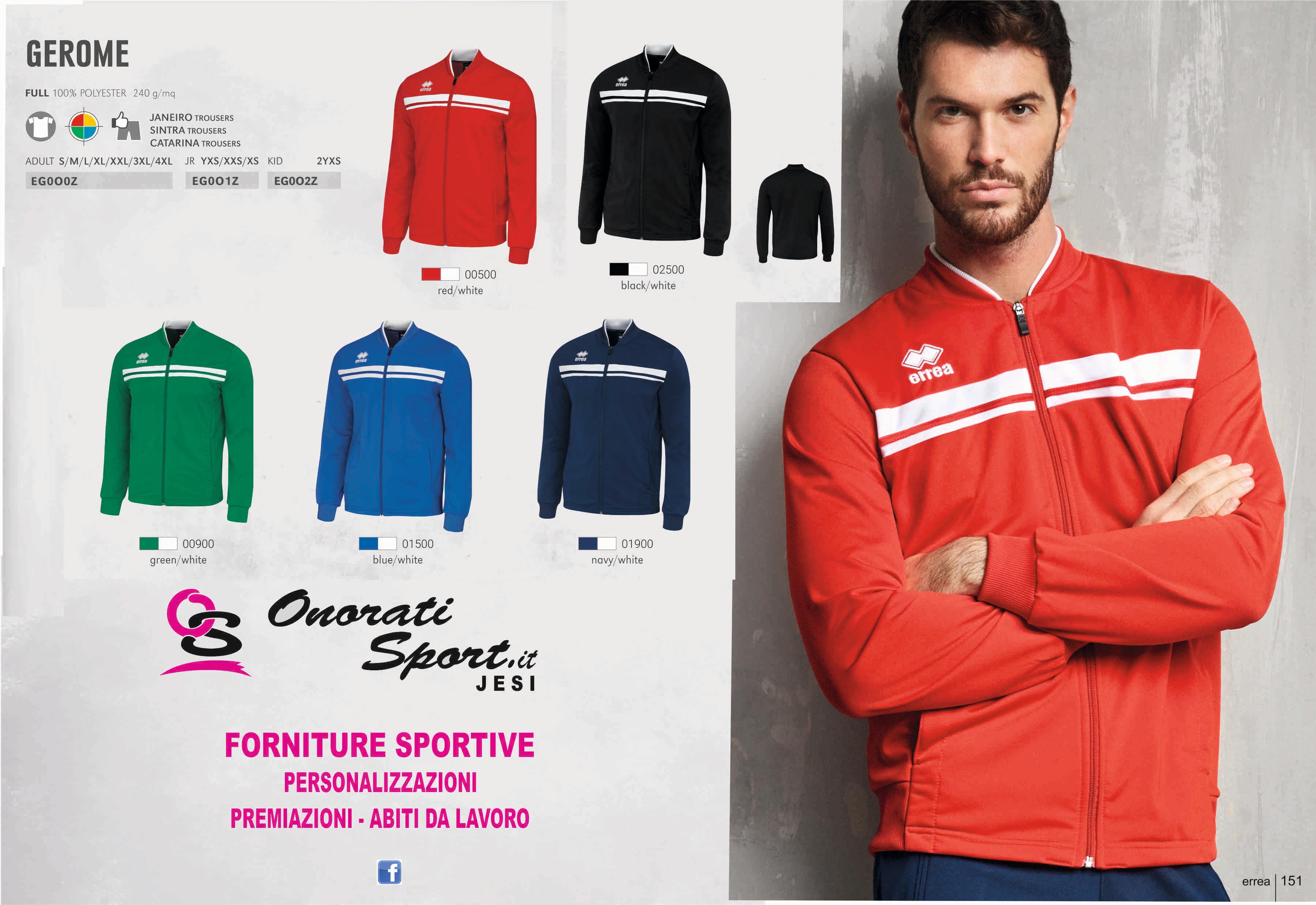 Forniture Sportive | Italia | Onorati Sport