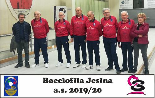 Bocciofila Jesina 2019-20