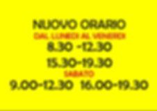 ONORATISPORT-orario NUOVO estate2019