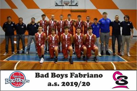 Bad Boys Fabriano 2019-20