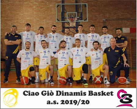 Ciao Giò Dinamis Basket Falconara 2019-20
