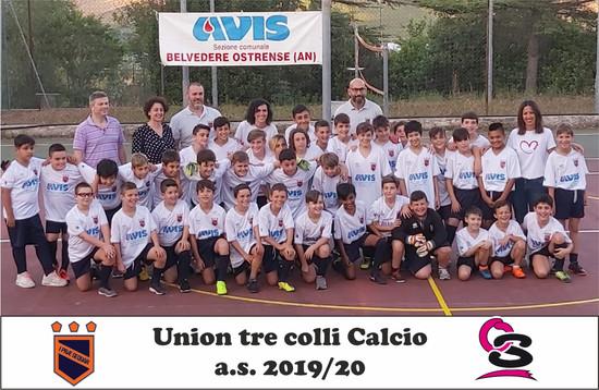 Union Tre Colli Calcio 2019-20