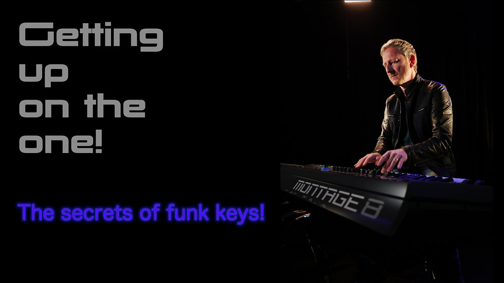 Tutorial: Getting up on the one, the secrets of funk keys!