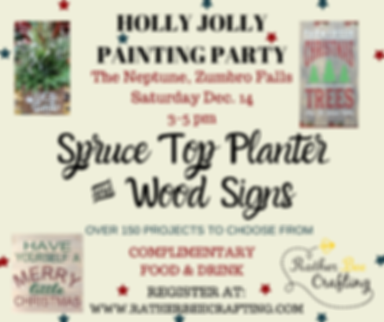 Holly Jolly Painting Party at The Neptune Bar