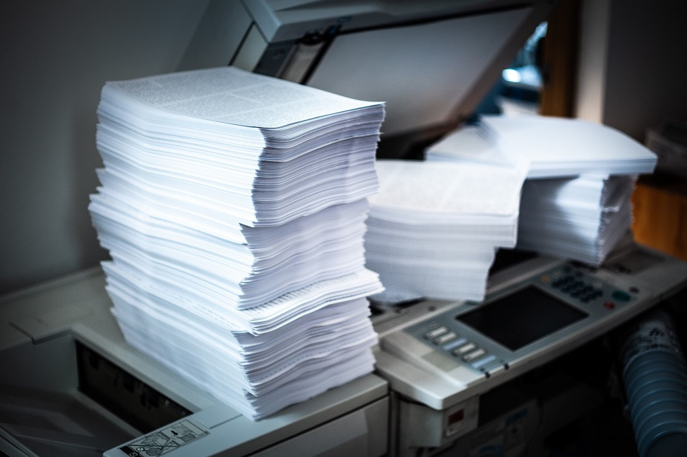 Overworked copy machine