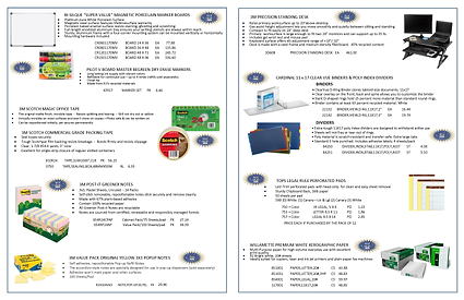 Arctic Office Products Flyer