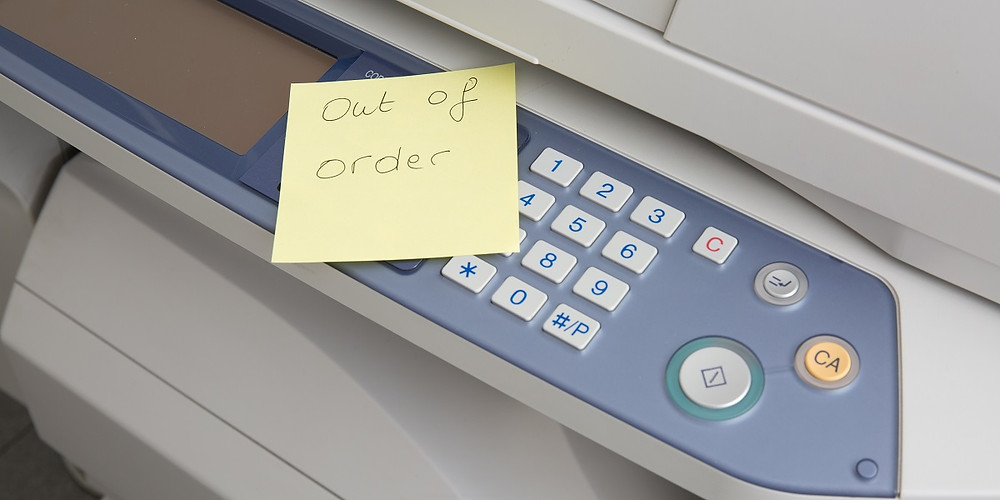 Out of Order Printer