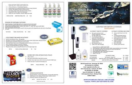 Arctic Office Products Monthly Sale Flyer